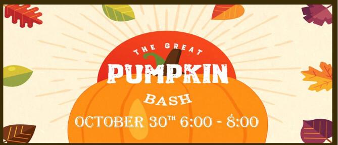 The Great Pumpkin Bash